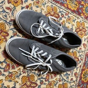 Grey VANS Women's Size 8.5